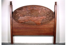 Reed Bros Custom Beds / Reed Bros. makes custom beds with custom woodcarvings for design professionals and their clients.