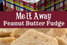 Peanut Butter Fudge & Cookies