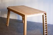 Puusta 1, pöydät