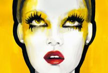 Art - Yellow / by Henny Cramers