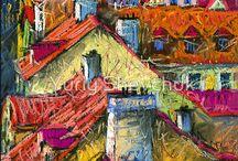 Pastels / by Donna Whiteside aka Barking Dog Gallery