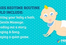 Bedtime Routines For Babies / Helping your baby to sleep? Follow these tips to help your baby sleep better!