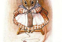 Беатрис поттер иллюстрации