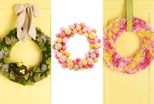 Spring decor and crafts