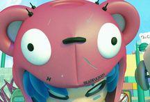 Art Toy Exhibition Chile 2015 / Cyberpunk Illustration Art Toy