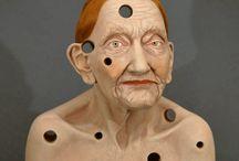 Tip Toland, hyper realism ceramic sculptures
