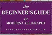 Font - Kalligraphie