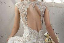 Svatební šaty - detail