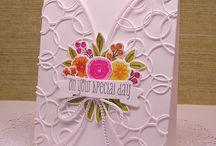 Memory Box Cards / by Lou Ann Scott