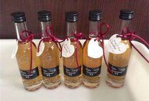 Personalized guest gifts, mini bottle of Cognac XO de OT