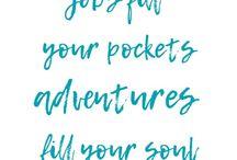 Travel Inspo / Quotes & that...