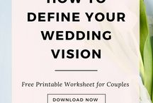 Wedding Planning Resources / Free wedding printables, templates, worksheets, wedding planning apps, tools and resources to help you get organized and save money!