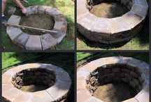 Fire Pit in my garden project