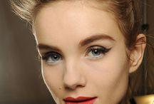 Hugo Boss Runway Show - Makeup