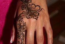 Цветочный рукав татуировка
