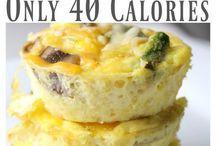 low calorie brekfis