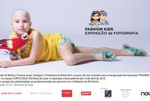 """FASHION KIDS -IPO / """"FASHION KIDS"""" é um projeto de solidariedade social que teve como principal objetivo, possibilitar às crianças do serviço de Pediatria do Ipo-Porto, a oportunidade de """"vestirem a pele"""" de um(a) manequim de Moda.   Num conjunto de sessões fotográficas que protagonizaram,   Deste projeto, da responsabilidade de Jorge Castro, Fotógrafo de Moda, e de Cristina Jorge, Designer e  de Moda, resultaram imagens de grande beleza"""