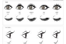 Shapes to do lashes