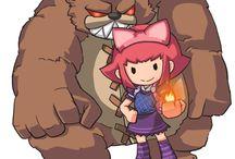 Annie as...