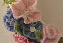 Recycled woollen jumpers