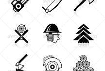 Caregiver website/brand - Lumberjacks / The feel of our brand, logo, website
