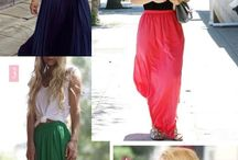 Outfits - Maxi Skirts