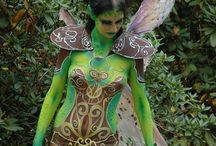 Bodypainting and Tattooing