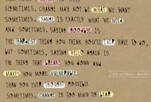 quotes / by Amanda Meadows