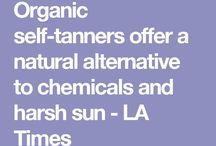 Self tanners