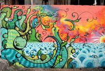 Rafael Highraff / Artista urbana que produz em diferentes formatos.