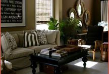 Home.Living Room.'British Colonial' Style