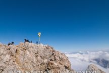 Wettersteingebirge (Deutschland / Österreich) / by Schöne Bergtouren - Das Bergsportportal