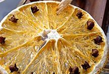 Christmas Decorations dried fruit