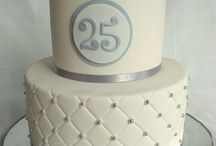 25 th cake ideas