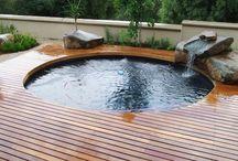 Lagos e piscinas naturais