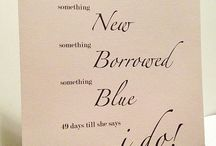 "Something Borrowed / Great ideas on how to incorporate ""Something Borrowed"" into your big day!"