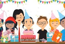 Spanish Birthday Song Video - 5 versions - Feliz Cumpleaños / Build a class tradition and play this song when it is a student's birthday. Use it as a springboard to explore cultural differences in seven countries. Set the tone for your Native Speakers class to learn and respect regional differences.
