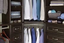 corner closet ideas