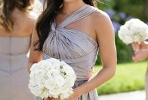 wedding dresses + deco