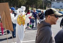 PPB Easter Egg Hunts / The Annual Easter Egg Hunt at Pioneer Pole Buildings. We all have a FUN time! Thank you for all who came out!