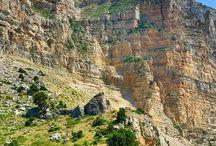 die Natur im Nordlibanon