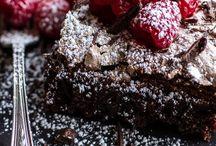 kek merengli çikolatalı