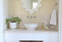 Downstairs Guest bath / by Sugar McCormick