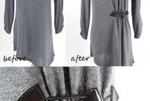 úprava odevu kreatívna