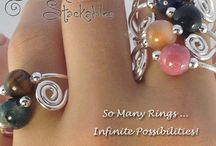 Gemstone Jewelry / Jewelry from my line available at: Bellanoellejewelry.com