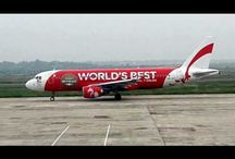 Air Asia in Taxiway