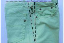 Comoensanchar un pantalón