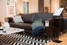 Sofa / Sitz- und Materialvergnügen