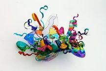 Plast skulptur