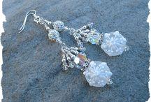 Lampworked Earrings